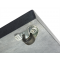 Parasolfod 90 kg i Granit på hjul - Black Polish