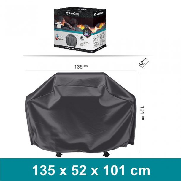 Overtræk til Gasgrill medium - 135 x 52 x 101 cm